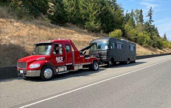 heavy equipment hauling king county